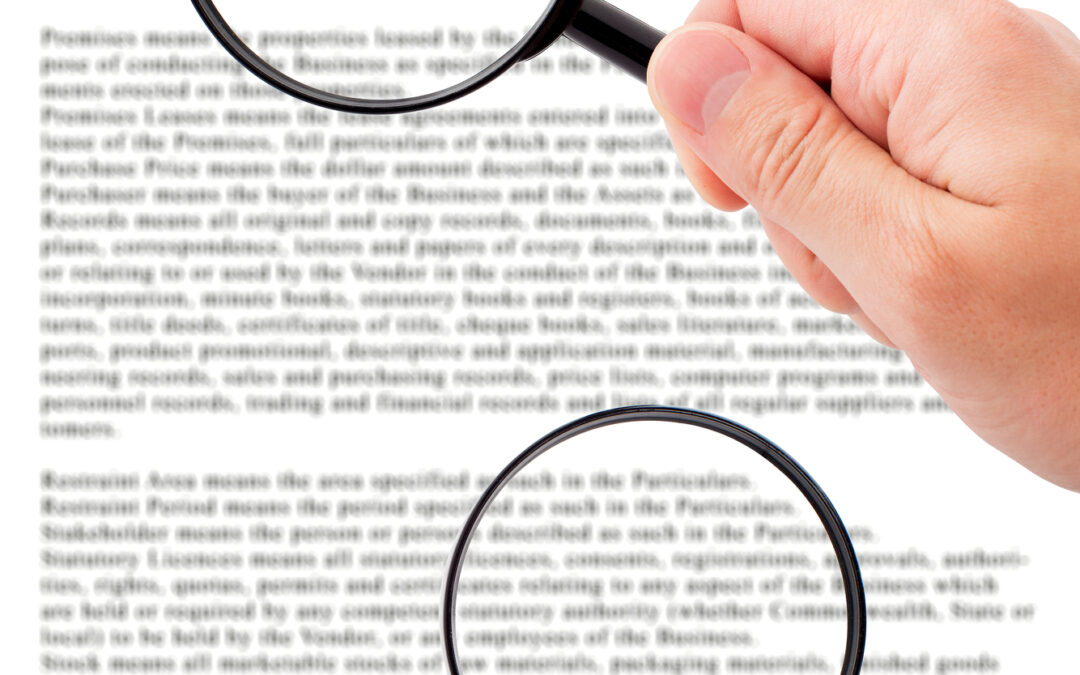 Under-insurance, the peril of small print